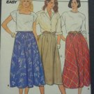 Butterick 3132 Pattern Flared A Line Skirts 12 14 16 Uncut