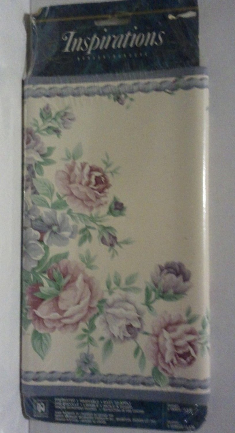 Inspirations/Norwall Victorian Floral Basket Wallpaper Border 10 in x 5 y 71587F