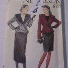 Simplicity New Look 6159 Uncut Suit Lined Jacket Blazer Skirt 8 10 12 14 16 18