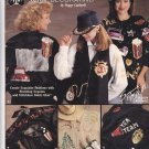 Hideous Sequin Dazzle Shirt Decorating Pattern Book Peggy Caldwell 2097