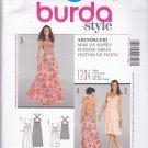 Burda Style 7408 Uncut 6 8 10 12 14 16 18 Evening Dress Sweetheart Neckline Cross Back