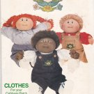 Butterick 6508 Pattern Uncut Cabbage Patch Kids Doll  Clothes Overalls Shirt Pants Jumper