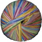 Berroco Zen Colors 1.75 oz 110 yd Mindfulness 8170 Rainbow Variegated Ribbon Yarn