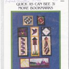 The Violet Patch Quick as Can Bee 3 Patchwork Pattern 5909 Quilted Bookmarks