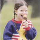 Crochet Sweaters for Kids Leisure Arts 75064 Pattern Booklet Melissa Leapman