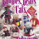 Bunnies Bears & Cats Crafty Critters to Stitch Stuff Knit Build Paint Hug 75 Lovable Pals BHG