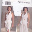 Butterick 3365 Pattern Uncut FF 6 8 10 12 Jessica Howard Fitted Halter Vest Skirt Pants Evening