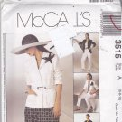 McCall 3515 Pattern Uncut FF 6 8 10 Non Stop Wardrobe Career Separates
