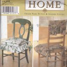 Simplicity Home Decor Pattern 7966 Uncut FF Chair Pads Cushions Glider Covers