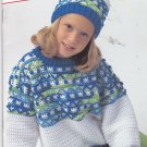 Red Heart Kool Kids Art J16 book 0107 Knitting and Crochet Pattern Booklet