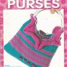 "Leisure Arts ""Knit Beaded Purses"" Booklet 3923 Karen Tam"