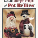 Steeple People and Pot Bellies Tole Painting Pattern Book Paper Mache Gourds Cones