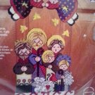 Christmas Holiday Sugarplum Greeters Plastic Canvas Kit SGP-1432 Peace Nativity Angels Sheep