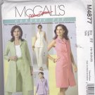 McCall's M4877 Pattern Uncut 16 18 20 22 Palmer Pletsch Top Dress Duster Pants