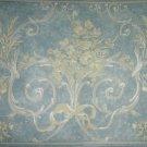 Springmaid Wallpaper Border Corinthia 7050814 Blue 6.785 inches x 5 yards