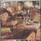 Butterick Home Decor Pattern 4759 Uncut FF Outdoor Living Cushions Rug Bag
