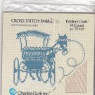 Charles Craft Fiddler's Cloth 12x18 inches 14 Count Cotton Poly Linen for Cross Stitch