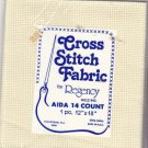 Regency Aida Cloth 12x18 inches 14 Count Cotton Ivory for Cross Stitch