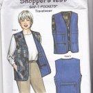 Saf T Pockets 9500 Shopper's Vest Pattern Uncut Travel Vest with Hidden Pockets