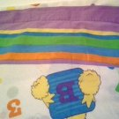 Sesame Street Twin Flat, Fitted Sheets Novelty to use As-Is or as Fabric Cutter for Quilting, Sewing