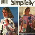 Simplicity 7893 Pattern Uncut pt-lg Quilted Jacket Tote Bag Shirley Botsford