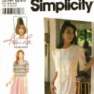 Simplicity 9611 Pattern 6 8 10 12 Uncut dress with Lace Overbodice