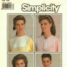 Simplicity 7995 Pattern Uncut One Size Lacy Victorian Detachable Collars