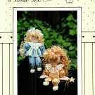Sharin a Little Bit 109 Angelina Angel or Everyday Angel Pattern to make Wood and Cloth Doll