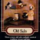 Home Folk 847 Old Salts Donna Gallagher Pattern to make 12 inch figures Horn Blower Sailor