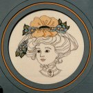 "Idle Time Designs ""Lady Victoria"" Cross Stitch Design Chart Pattern"