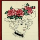 "Idle Time Designs ""Victorian Rose"" Cross Stitch Design Chart Pattern"