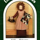 Dream Spinners 142 Welcome Pattern Uncut 24 inch Door Stop Doll Goose Quilt
