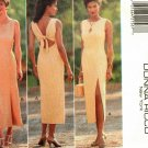 Butterick 3997 Pattern uncut 14 16 18 Open Tie Back Dress Donna Ricco