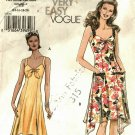 Vogue 8066 V8066 Pattern uncut 14 16 18 20 Tie Front Sun Dress