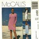 McCall's 2241 Pattern uncut 10 12 14 Dress 2 Lengths Pants Lined Shrug