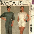 McCall's 8551 Pattern uncut Medium 14 16 Jumpsuit Leon Max