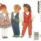 Butterick 3097 Pattern uncut Toddlers Girls Boys 2 3 4 Vest Skirt Pants