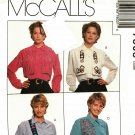 McCall's 7803 Pattern uncut 8 10 12 Decorated Blouse with Overlay Nancy Zieman