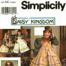 Simplicity 9706 Pattern uncut 3 4 5 6 Dress Pinafore for Girl and Doll