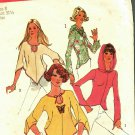 Simplicity 6656 Pattern Complete 8 Jiffy Pullover Hoodie Top Shaped Hem