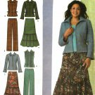 Simplicity 4375 size 20w 22w 24w 26w 28w may be missing pieces, 50 cents plus shipping
