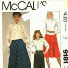 McCall's 9181 size 14 Skirts Palmer and Pletsch may be missing pieces, 50 cents plus shipping