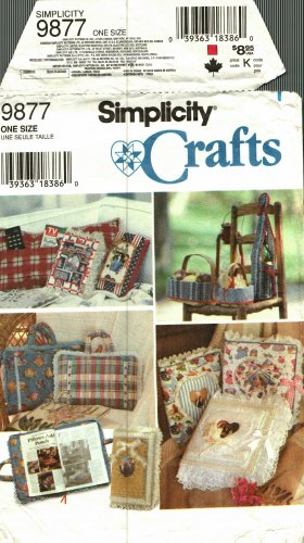 Simplicity 9877 Media Covers Sewing Pattern may be missing pieces, 50 cents plus shipping