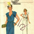 Vogue 7383 size 10 Front Wrap Dress may be missing pieces, 50 cents plus shipping