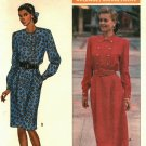 Butterick 4210 Pattern uncut 12 14 16 Long Sleeve Dress Blouson Bodice J G Hook