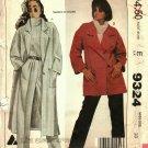 McCall's 9324 Pattern uncut 10 Coat Jacket Pants Liz Claiborne vintage 1980s