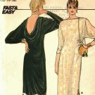 Butterick 4994 Pattern uncut 12 14 16 Pullover Dress Low Cut Back Cowl Evening or Below Mid Knee