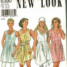 Simplicity New Look 6390 Pattern uncut 6 8 10 12 14 16 Sleeveless Short Dress or Long Top