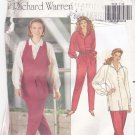 Butterick 5112 Pattern uncut 12 14 16 Vest Pants Loose Fit Top Raglan Sleeves Richard Warren