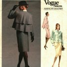 Vogue 1957 Pattern Uncut Size 16 Bust 38 Jacket Skirt Bill Blass